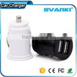 Commonly Used Accessories & Parts with quality IC protecting vehicle automobile DC adapter dual 2 USB car charger free samples                                                                                                         Supplier's Choic