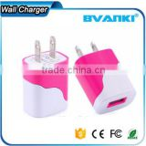 Wholesale alibaba OEM EU/US/UK/AU Plug 5V 1A Travel Charger Portable Super Fast Cell Phone Charger For Mobile Phone Charger
