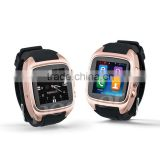 New Snart Watch Phone call heart rate monitor pedometer GPS tracker temperature measure for Android Phone