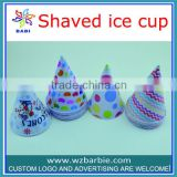 Cone paper cups Shaved ice cup
