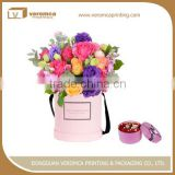 Brand new flower boutique paper packaging hat boxes