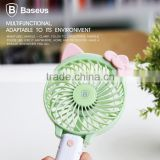 BASEUS 2000Mah Battery Alice Series Mini USB Fan Portable Mini Hand-Held Micro USB Fan 3 Level Adjustment TB-0398