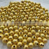 Look!! Cheapest Shiny Metal Stardust Beads! Bulk Price Stardust Spacer Beads for large beads jewelry making