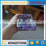 Luxury High quality gemstone soap dish bathroom accessory
