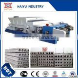 Inquiry about Prestressed concrete hollow core slab production line machine                        