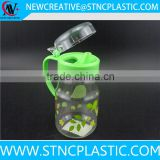 multi usage plastic soy sauce bottle with handle 450ml