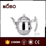 artistic stainless steel brew kettle for sale,double tea kettle