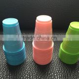 Good Quality, Color Consistency, Colorful Party Usage disposable Plastic Cups with Rim Rolled