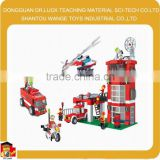 fireman sam toys fire fighter small blocks toy set