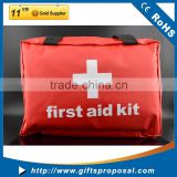 First Aid Kit Waterproof Light Weighted Essential Medical Supplies: For Car, Kitchen, School, Camping, Hiking, Travel, Office