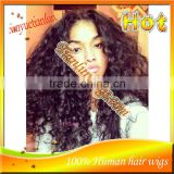 #1B Afro Kinky Curly Full Lace Human Hair Wigs Brazilian Virgin Human Hair Lace Front Wigs For Black Women Alibaba Websit