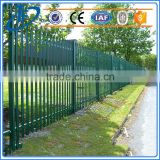 ISO9001 metal fence panels and galvanized pipe horse fence panels