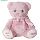 Factory wholesale plush teddy bear stuffed teddy bear baby toy