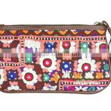 Vintage Gypsy Purse Banjara Clutch Bag Gypsy Embroidered Wallet