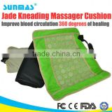Sunmas HOT jade heat therapy products bead massage car seat cushion