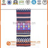 advertising woven 100% acrylic fashion double-layer scarf silk scarf