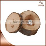 2016 New design LOVE log wood box for wedding finger ring