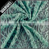 7 Discount High Quality floral style nylon polyester lace fabric for garment accessory 3120