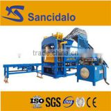 power step vibration brick making machine QT4-15 hydraulic block machine equipment for the production