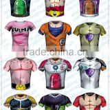 Dragon Ball Z t-shirt Lycra tights fitness exercise special fast drying wicking T-shirt Lycra tights