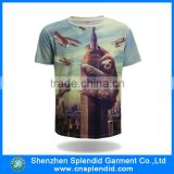 custom wholesale popular sunlimation animal 3d t-shirt                                                                         Quality Choice