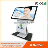 Floor Standing outdoor LCD Interactive Kiosk / Outdoor digital signage LCD Touch Screen Player
