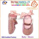 wholesale princess ballet girl baby first step shoes with big bow