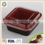 300ml PP Disposable Plastic High Qulity Heat Resistance Food Storage Container SGS/FDA Appoval Microwave Oven safe