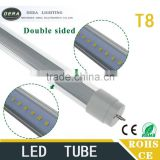 360 degree beam angle double side t8 tube lighting 6ft 32w for Hinged Cold Room and Freezer Doors