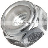 Steel Lock Nut, Plain Finish