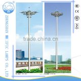 25 meter pneumatic telescopic mast IP65 220V 2000W high pole light