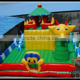 Funny inflatable jumping animals, inflatable bouncers for kids, inflatable castle jumper