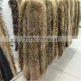 Factory direct supply Fluffy 100% Real Raccoon Fur Trim for Hood