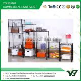 2015 hot sell NSF black color powder kitchen wire rack and cabinet wire basket (YB-WS039)