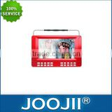 Wholesale Price 10 inch Portable TV With DVD Player And USB/SD Input, Built-in Stere Speaker