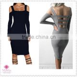 wholesale China cheap long sleeve bandage tight sexy women club dresses