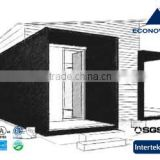 30 square meter modern module prefabricated house with solar energy and insulation system