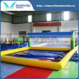 Inflatable Sports Game Inflatable Water Beach Volleyball Court