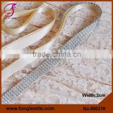 FUNG 800219 Wholesales Wedding Accessories Ivory Bridal Sash