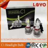 Factory Price Paypal Accepted 12v 30w car lights led 6000k 3000lm led headlight 9006 HB4 Auto car lamps
