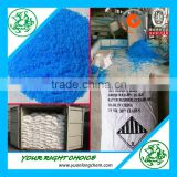 Food Grade Copper Sulphate Penta pentahydrate / sodium lauryl sulfate 98% blue crystals/ powder cas 7758-99-8