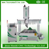 woodworking cnc machines for saler 4 axis cnc milling machine HS1325 3d wood carving cnc machine