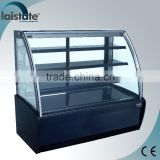 Stainless Steel Counter Top Refrigerated Bakery Showcase