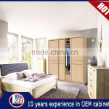 Wholesale veneer bedroom wardrobe door designs india