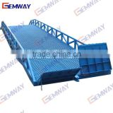 6ton Loading cargo delivery mobile hydraulic yard ramp used for container