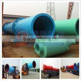 High production capacity factory sale coal/sand/gypsum/clay rotary cylinder drum dryer cylinder dryer