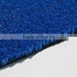 10mm pile height blue color Tennis artificial lawn