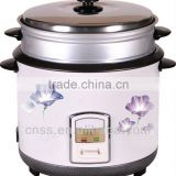 Chinese wholesale big size low price induction rice cooker with steaming basket