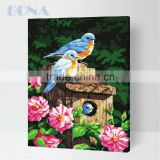 Bona Parrot Oil Painting By Numbers Kits