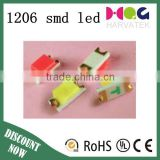 1206 high power smd led UFD High brightness high power led chip 0.06w light emitting diode